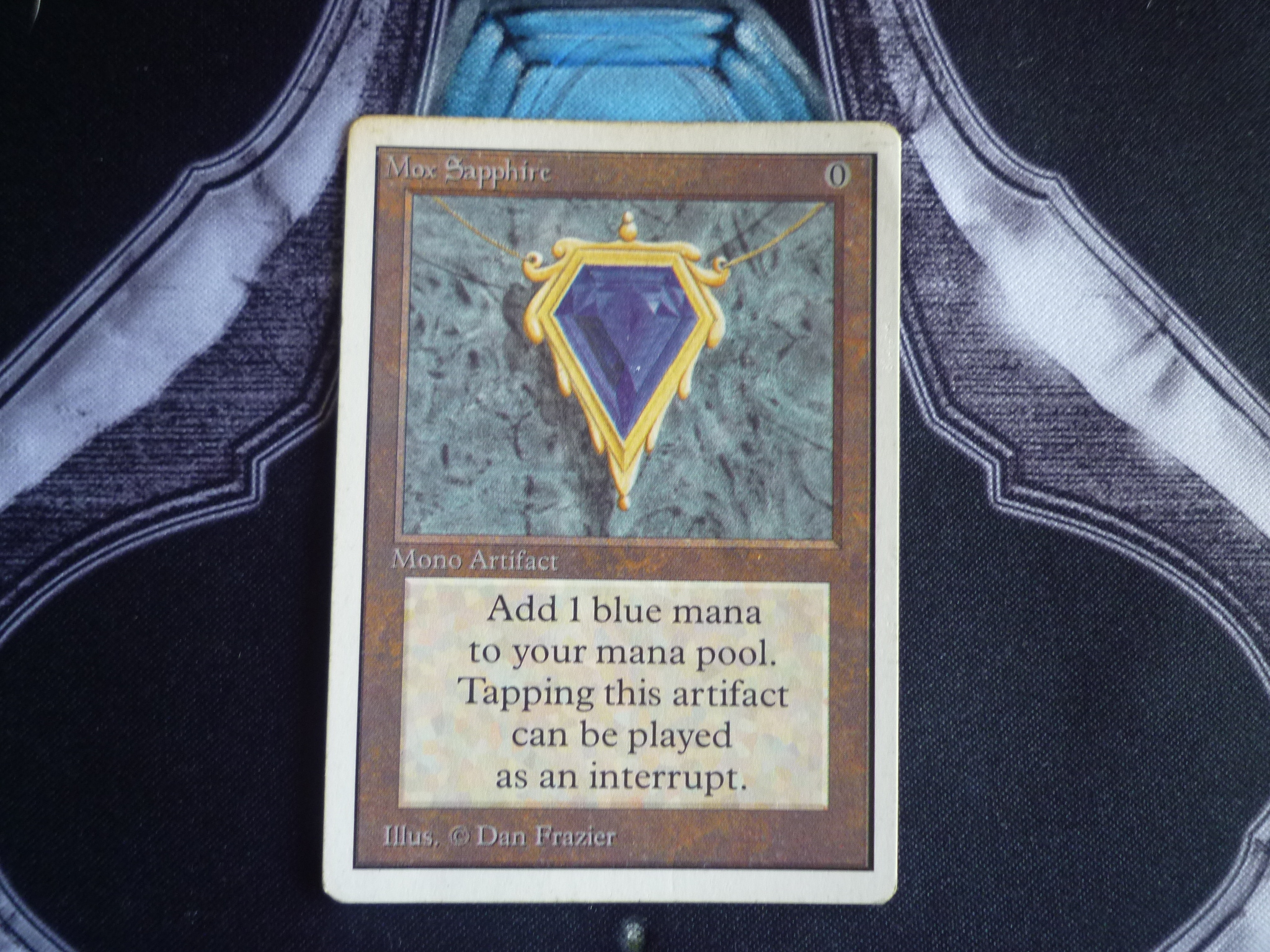 Mox sapphire front